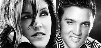 Elvis and Lisa...♥