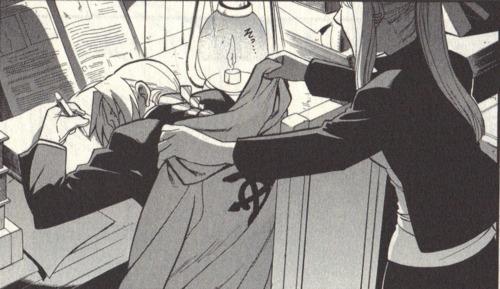 FMA Sacred nyota of Milos manga
