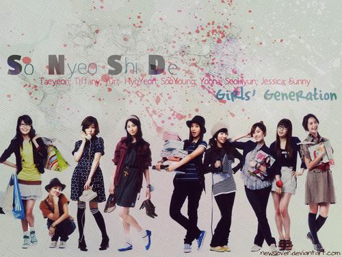 Girls' Generation वॉलपेपर