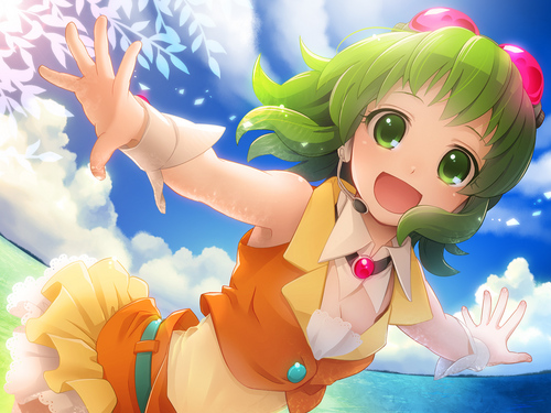 Gumi Megpoid from Vocaloid
