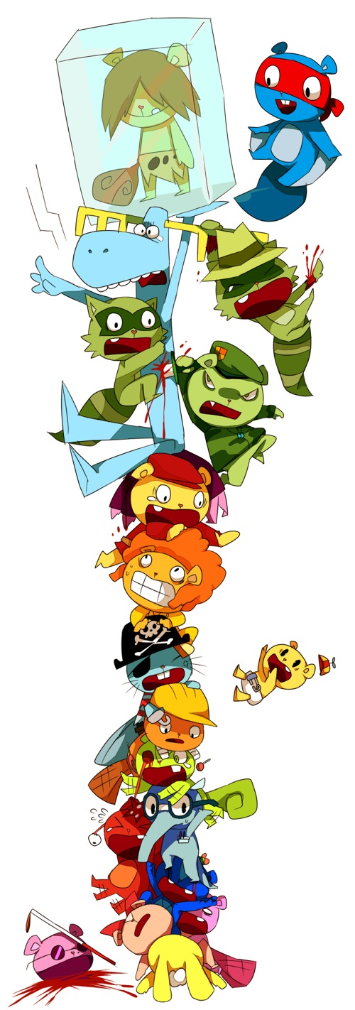 Happy Tree Friends Cuddles And Giggles Human