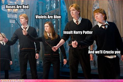 Harry Potter Vs. Twilight wallpaper containing a business suit and a concert entitled Harry Potter is AWESOME!
