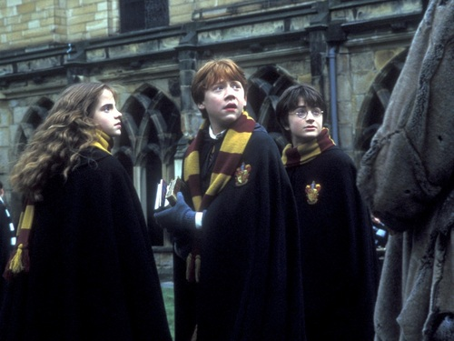 Harry, Ron and Hermione 바탕화면
