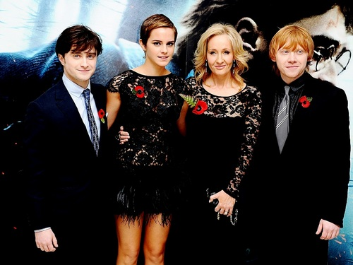 Harry, Ron and Hermione پیپر وال