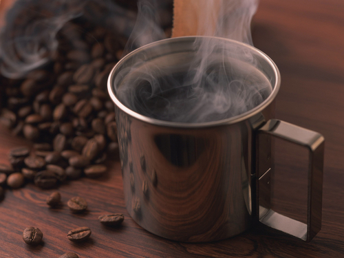 Coffee wallpaper containing a coffee break entitled Hot Coffee