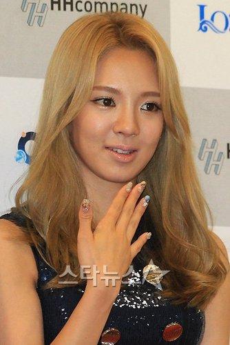HyoYeon In Incheon Korean 音乐 Wave Festival