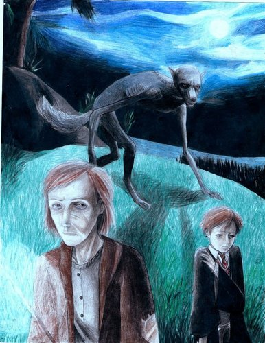 I drawing i did of Remus Lupin