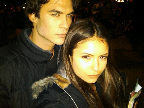 The vampire diaries nina and ian dating