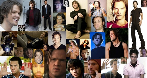 Jared Padalecki (Sam Winchester) Collage