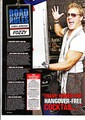 Jericho featured in Kerrang Magazine - fozzy photo