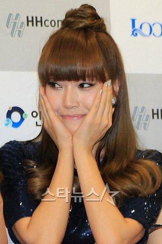 Jessica in Incheon Korean 音乐 Wave Festival