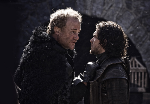 Jon Snow and Alliser Thorne