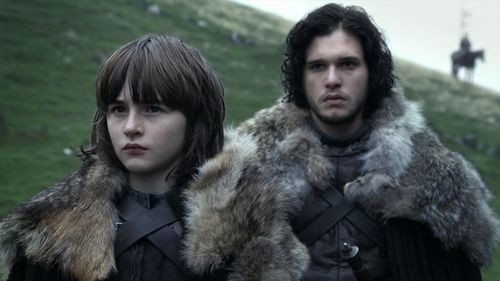 Jon Snow and Bran Stark