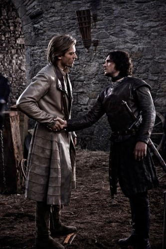 Jon Snow and Jaime Lannister
