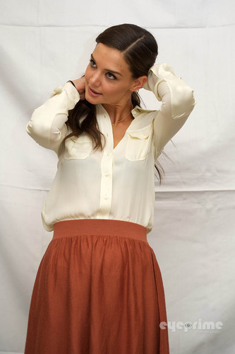 "Katie Holmes: ""Don't Be Afraid Of The Dark"" Press Conference in NY, Aug 9"