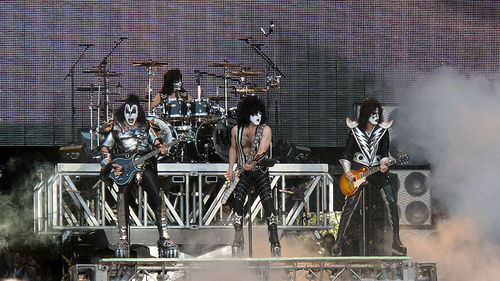 Kiss sauna open air Tampere Finland 2010