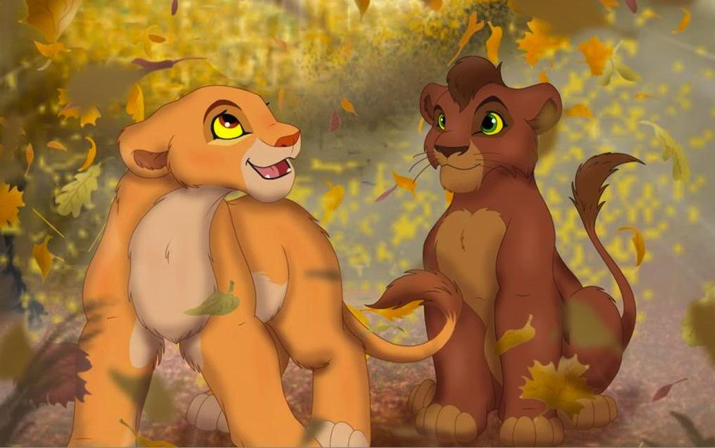 El rey León 4: ¡¡¡¡El maligno despertar de Kovu!!!!¡¡¡¡Kopa regresa!!!!¡¡¡¡la venganza de Kuntra!!!! - Página 3 Kovu-and-Kiara-kovu-and-kiara-24516470-1015-637