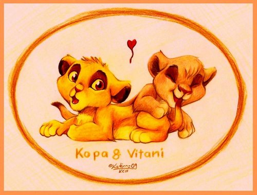 Kovu and Vitani