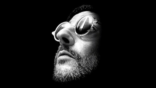 Leon (Léon The Professional) wallpaper containing sunglasses titled Leon wallpaper