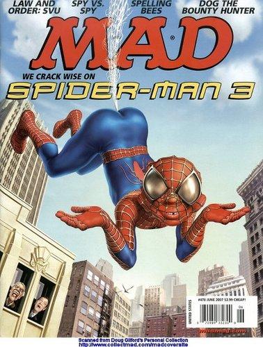 MAD spider man