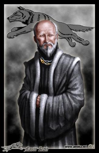 Maester Luwin door Amoka