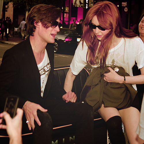 Matt Smith & Karen Gillan in L.A 22/7/11