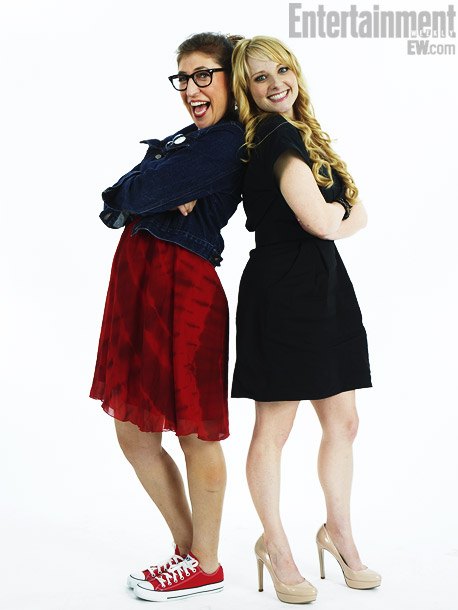 Penny Amy And Bernadette Images Mayim Bialik And Melissa Rauch