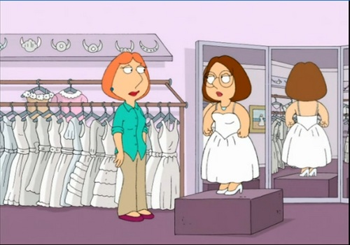 family guy wallpaper probably with anime entitled Meg and Lois Griffin (Mom, I'm not getting an abortion!)