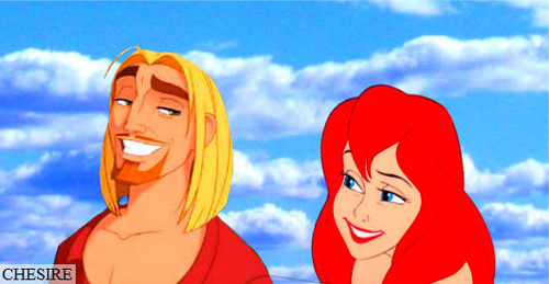 disney crossover achtergrond probably with anime titled Miguel/Ariel