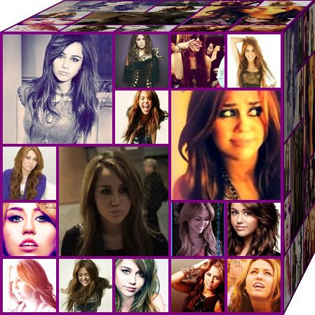 Miley Cyrus wallpaper titled Miley's Cube