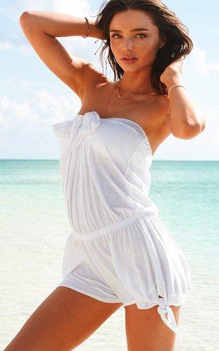 Miranda Kerr's Sexy VS roupa interior & Swimwear Shoots