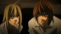 Misa and Light - misa-amane screencap