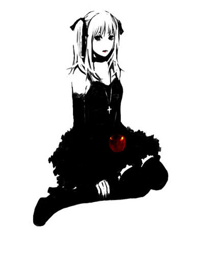 Misa Amane wolpeyper probably with a hip boot called Misa