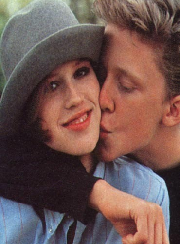 Molly Ringwald and Anthony Michael Hall