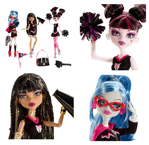 Monster High 玩偶