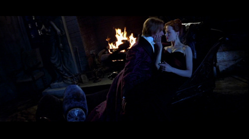 Nicole Kidman wallpaper with a fire and a fire called Moulin Rouge