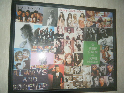 My Collages in my Room :)