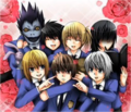 Ouran Death Note! X3 - anime fan art