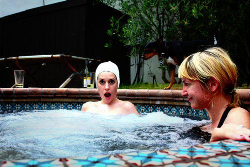 Paget in the Pool
