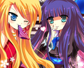 Panty and stocking - cute99 photo