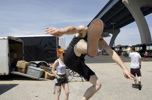 Paramore on Warped Tour 2011