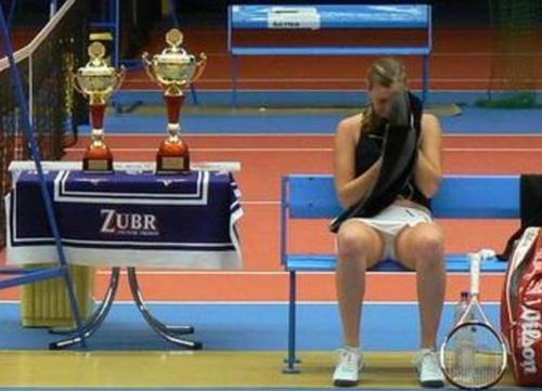 Petra Kvitova Zubr cup trophy