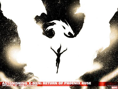 X-Men 壁纸 possibly with 日本动漫 entitled Phoenix