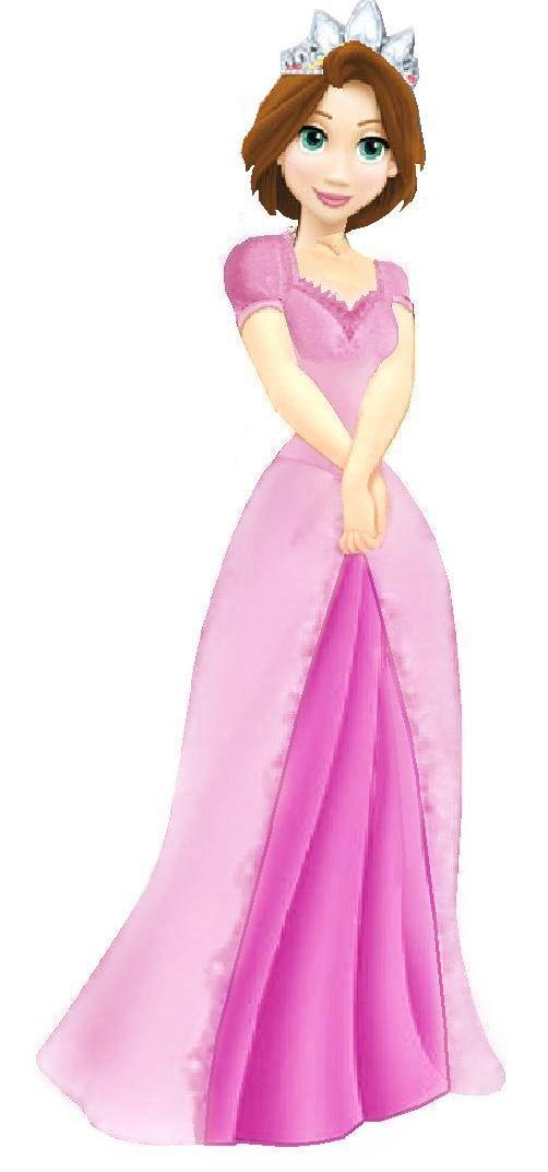 Princess Rapunzel 2D clipart