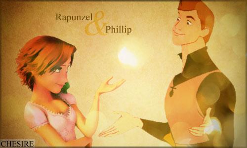 Rapunzel/Phillip