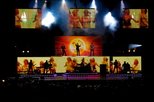 Rascal Flatts on 2009 Tour