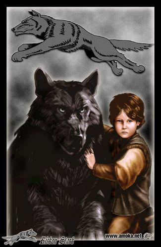 Rickon Stark kwa Amoka
