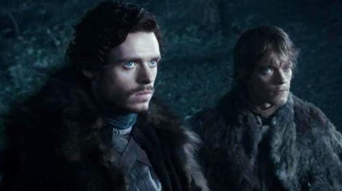 Robb Stark and Theon Greyjoy