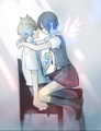 Roxas and Xion <3