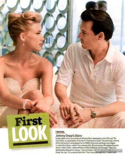 rum Diary - first look
